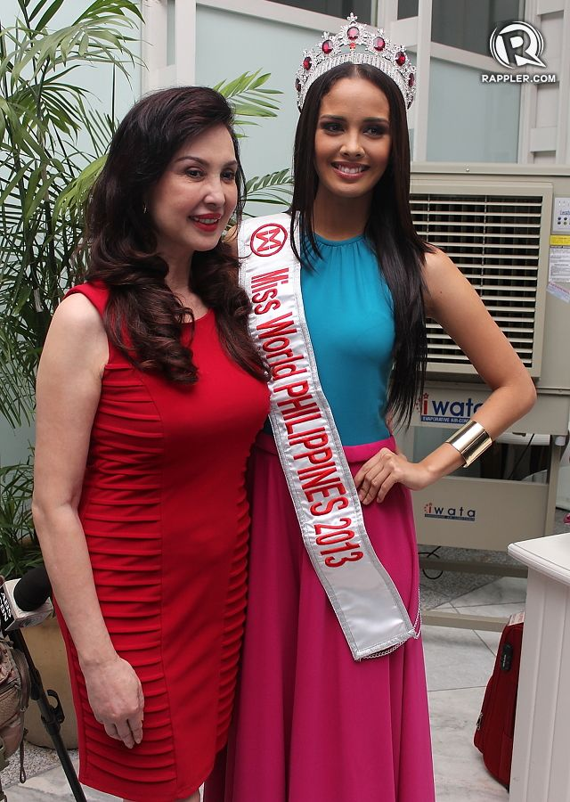 SHE'S READY. Miss World Philippines pageant director Cory Quirino is confident in our candidate