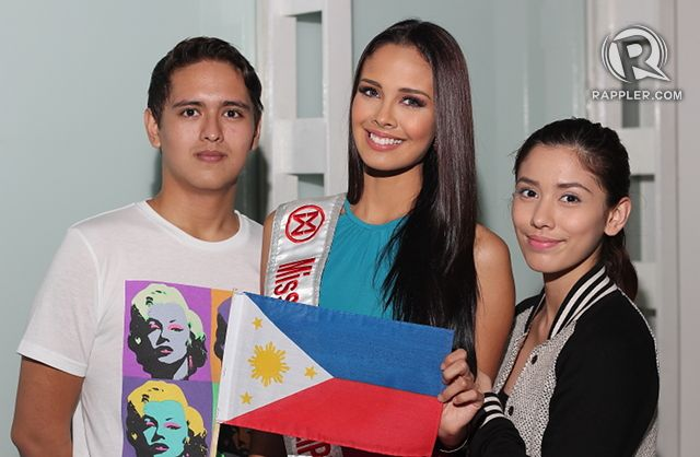 SUPPORT SYSTEM. Megan Young with her number one fans, Victor and Lauren. All photos by Jory Rivera/OPMB
