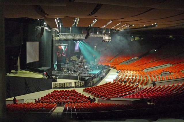 SENTUL INTL CONVENTION CENTER. The original coronation night venue of Miss World 2013 in the outskirts of Jakarta. Photo from www.missworld.com