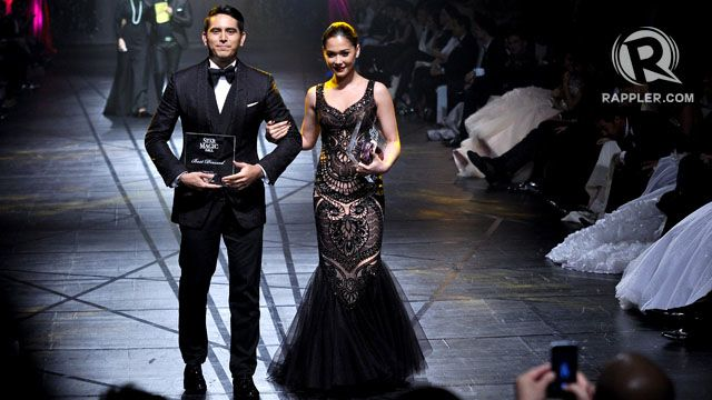 BEST DRESSED MALE AND FEMALE. Gerald Anderson and Maja Salvador