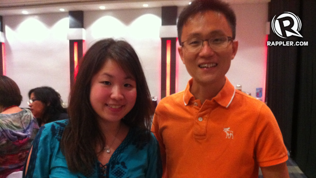 WATTPAD. Country manager Kristel Tan and CEO, co-founder Allen Lau