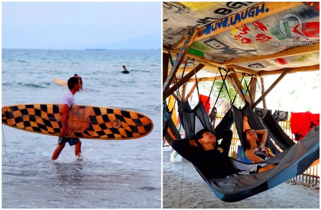 SURFu2019S UP! Liw-liwa in Zambales is one of the closest surf spots to the metro. It has accommodations for penny-pinching backpackers, too!