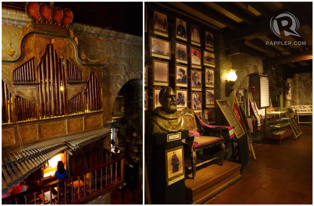 UNIQUE MUSIC AND HISTORY. The Bamboo Organ [left] is the only organ made almost entirely of bamboo in the world. It has an interesting history chronicled in its museum [right].