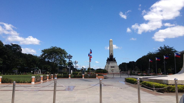 HERO'S SHRINE. The Rizal Shrine is the central feature of Luneta Park and houses the remains of national hero Jose Rizal. Photo from CARLOS CELDRAN Facebook page
