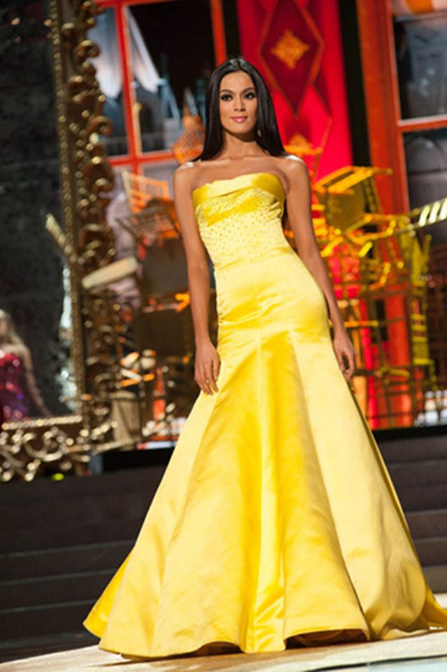 CONGRATULATIONS, ARA! Miss Philippines Ariella Arida finishes on top at the 2013 Miss Universe pageant. Photo courtesy of the Miss Universe Organization LP, LLLP