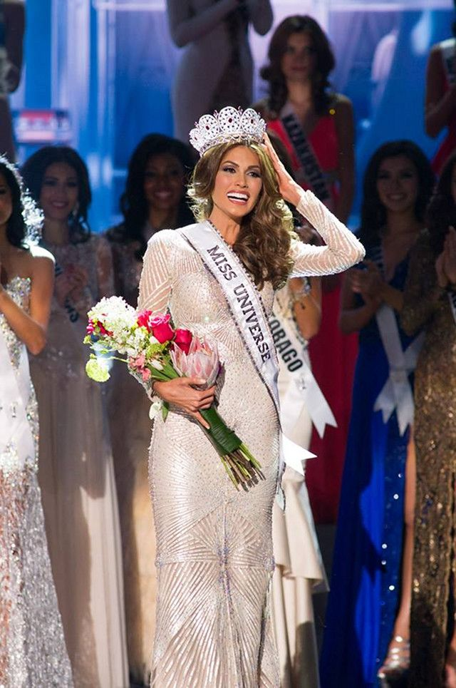 2013 MISS UNIVERSE. Venezuela's Gabriela Isler. Photo from the Miss Universe Facebook page