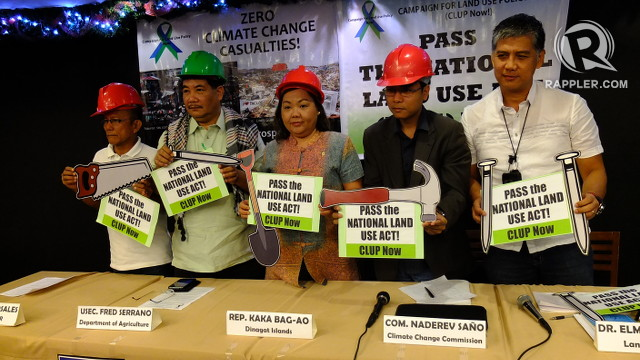 LAND USE. Advocates say having a National Land Use Policy can help the country withstand disasters and ensure food security. Photo by Pia Ranada/Rappler