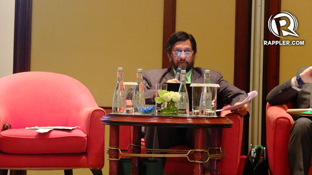 THREATENED BY CLIMATE CHANGE. Intergovernmental Panel on Climate Change (IPCC) Chairman Dr Rajendra Pachauri says heat waves and extreme rainfall threaten food security