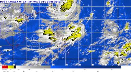 Pagasa satellite image at 12.09pm