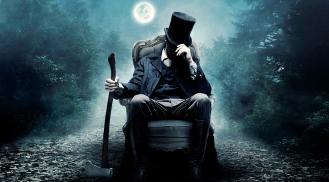 PRESIDENT BY DAY, VAMPIRE hunter by night. The movie comes to Philippine theaters on July 4.