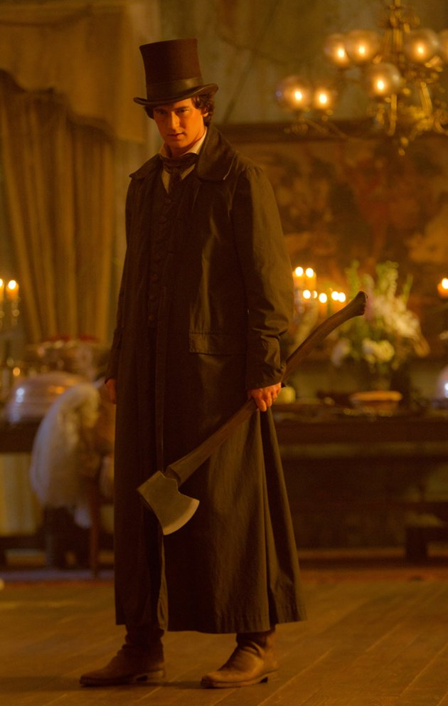 AN ICONIC FIGURE. Benjamin Walker towers as Abraham Lincoln