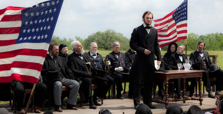 OF, FOR AND BY the people. Benjamin Walker speaks as the Americansu2019 beloved president.