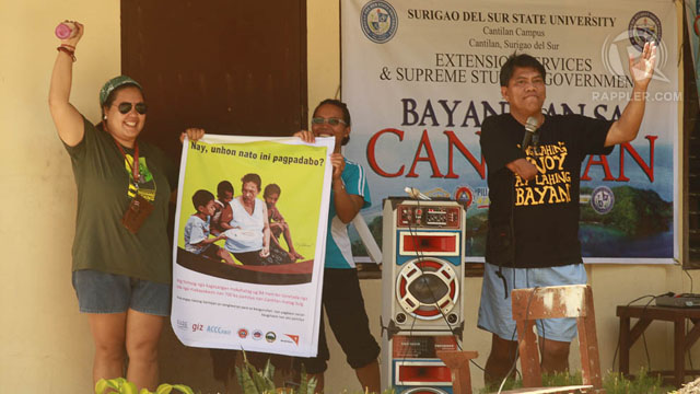 BAYANIHAN LIVES ON! Gawad Kalinga came and, with the help of the Ayoke community, restored dilapidated classrooms. Photo by Arvin Escatron