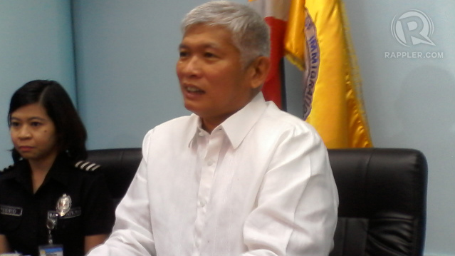 SHORT STINT. File photo of former immigration chief Siegfred Mison. File photo by Rappler