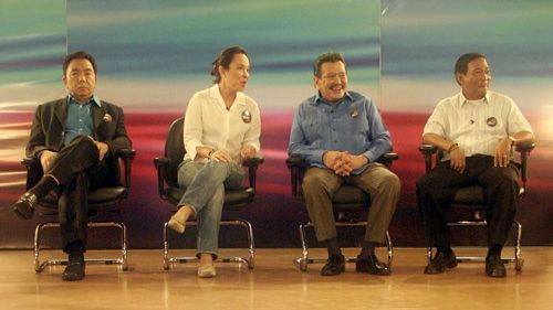 FLASHBACK 2009. Binay attends an ANC leadership forum. Hardly anyone predicted then that a year later, he would become vice president. Photo from Senate website