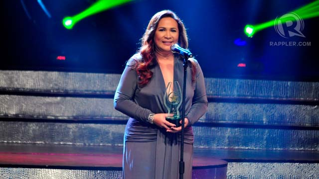 Janice de Belen received the Best Supporting Actress trophy for her performance in 'Tiktik: The Aswang Chronicles'
