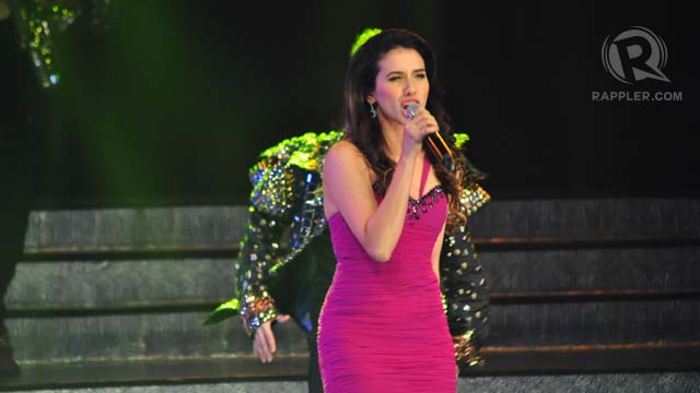 Karylle in one of the evening's performances