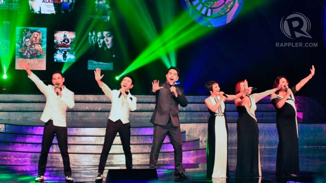 Jed Madela and The Company opened the program