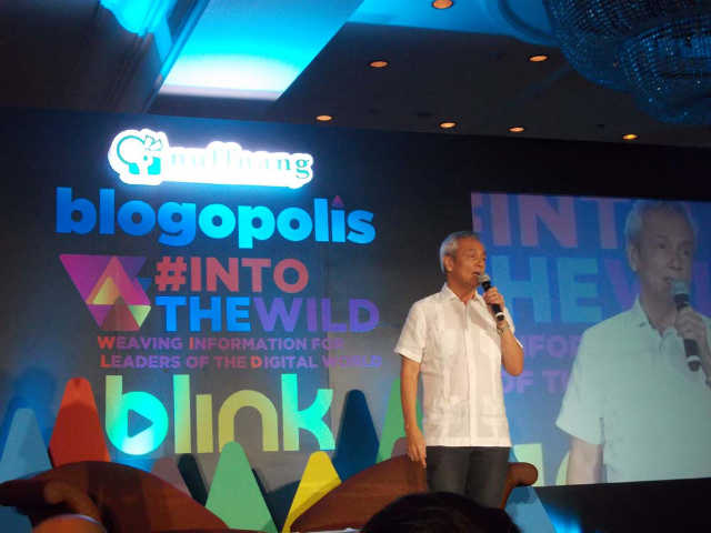 QUALITY CONTENT. According to activist and musician Jim Paredes, everyone is looking for that elite experience of real insight and connectivity online.