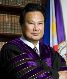 OUT. Corona leaves the post of chief justice after conviction.Source: http://sc.judiciary.gov.ph/