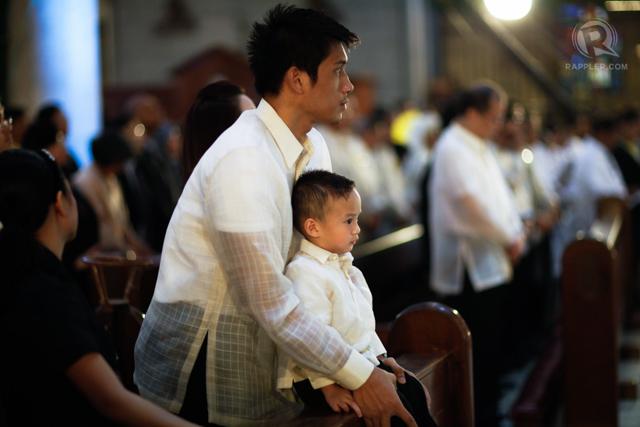 FATHER AND SON. James and Bimby Yap. File photo Rappler/John Javellana