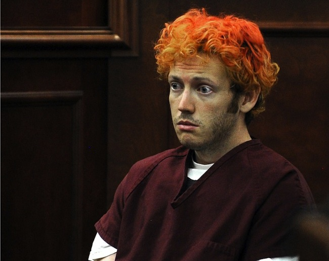 CINEMA SHOOTING SUSPECT. James Holmes appears in court at the Arapahoe County Justice Center July 23, 2012 in Centennial, Colorado. Holmes, 24, is accused of shooting dead 12 people and wounding 58 others at a cinema Friday in Aurora, outside Denver, as young moviegoers packed the midnight screening of the latest Batman film, u0022The Dark Knight Rises.u0022AFP PHOTO/POOL/RJ SANGOSTI