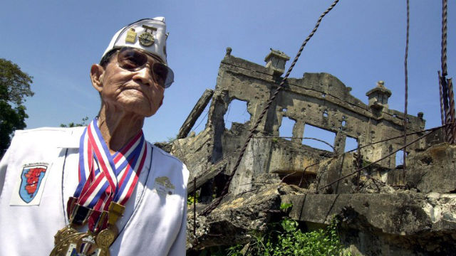 SOLDIER SANCTUARY. This small island off Bataan is a World War II monument in itself. AFP Photo