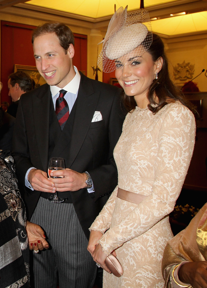 IT WAS THE QUEEN'S week, but they still turned heads. Prince William and Duchess Kate looking ever so elegant.