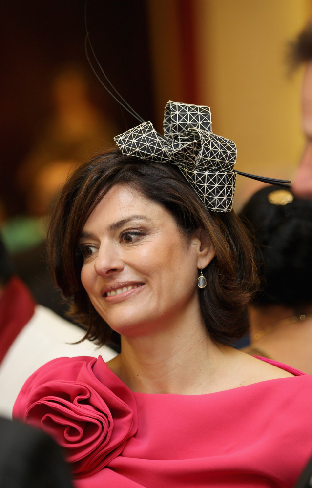 Miriam Gonzalez Durantez, wife of Liberal Democrat Party Leader and Deputy Prime Minister of the United Kingdom, Rt Hon Nick Clegg MP