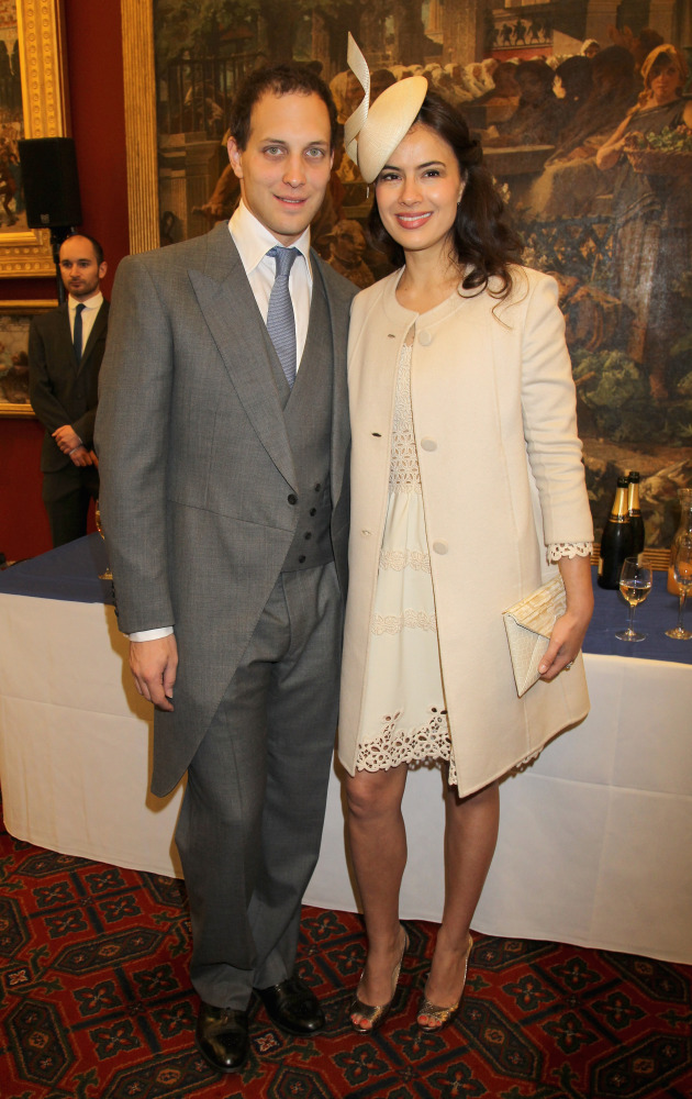 Lord and Lady Frederick Windsor (actress Sophie Winkleman)