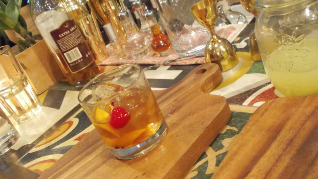 THE OLD-FASHIONED. All-time classic cocktail