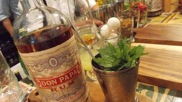 DON PAPA RUM. Rich, smooth spirit. Photos by Peter Imbong