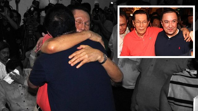 Photos from Jack Enrile's Facebook page
