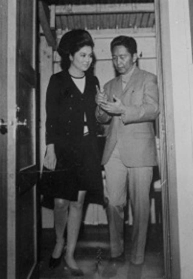 OLD TIMES. Ferdinand and Imelda Marcos in a file photo provided by William Rempel