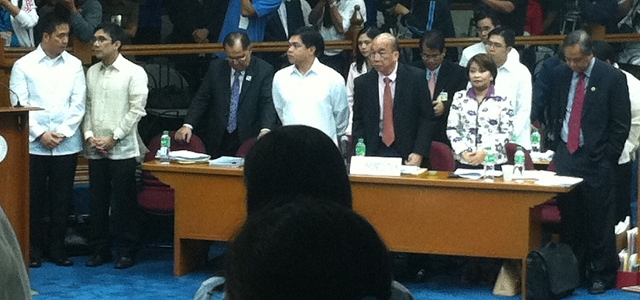 CONFIDENT: The House prosecution panel