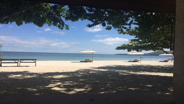 ISLAND IDYLL. Doesn't this photo make you deliciously sleepy?