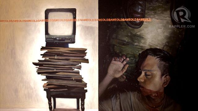 IMPUNITHINGS. From Carlo Gabuco's solo exhibit Quagmire at Singapore's Artesan Gallery.