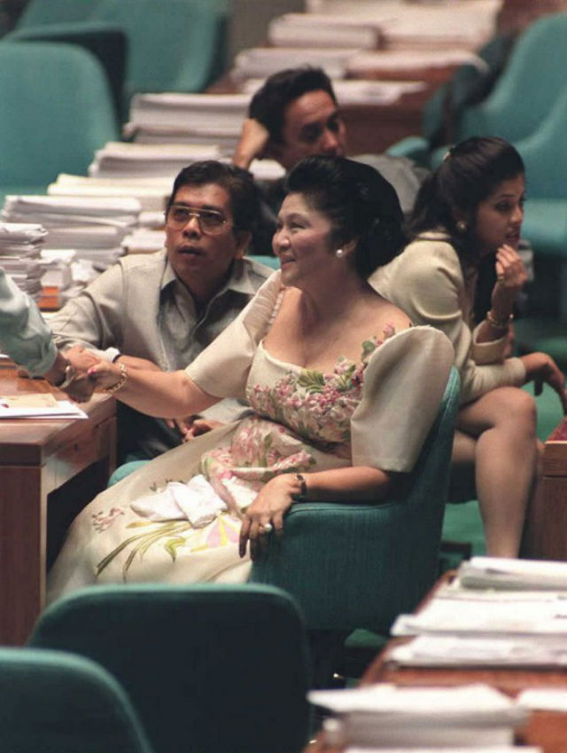 POLITICAL REHABILITATION. As congresswoman during the Ramos administration. Photo: Romeo Gacad/AFP