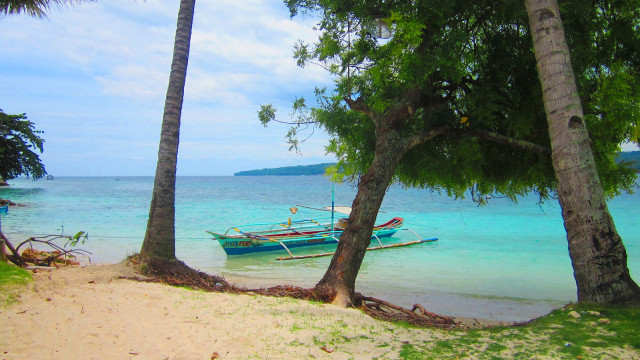 QUIET RETREAT. Kaputian Beach in Samal Island gives you time to commune with nature. Photo by Jherson Jaya