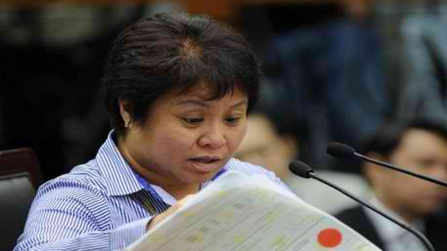 COURT-BOUND? BIR Commissioner Kim Henares, who testified in the impeachment trial of dismissed chief justice Renato Corona, gets nominated to replace him