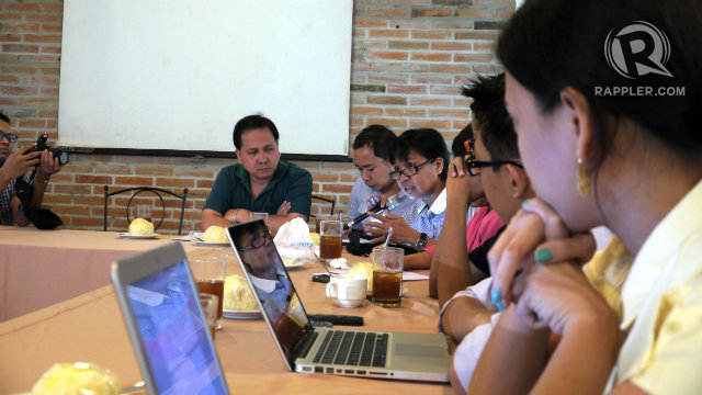 Journalists discuss the Cybercrime Prevention Act
