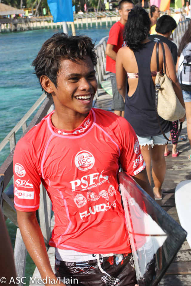 NO FORMAL TRAINING. 15 year old Marama Tokong did not let his lack of formal training and coaching get the best of him