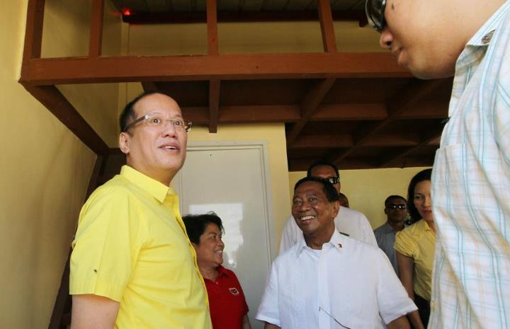 CONSTRUCTIVE OPPOSITION. Vice President Jejomar Binay says his alliance is not against President Aquino. File photo by Malacau00f1ang Photo Bureau