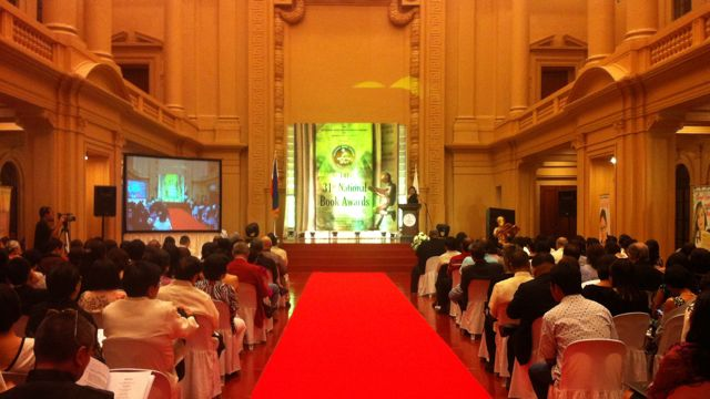 NATIONAL MUSEUM. The historic old Senate session hall served as the venue of the 31st National Book Awards