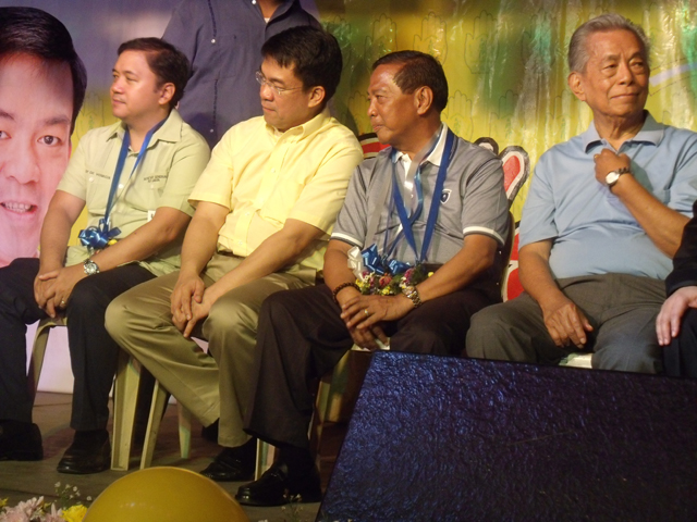 BROKEN TIES? It remains to be seen how UNA's decision to accept Zubiri will affect ties between Binay and the Pimentels. File photo of PDP-Laban leaders from the party's 30th anniversary in February 2012. Photo by Reynaldo Santos Jr
