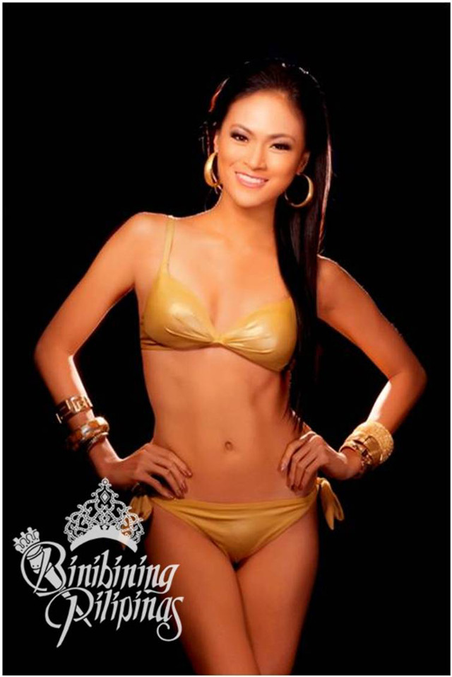 OFFICIAL SWIMWEAR. Ria Rabajante in the Bb Pilipinas official swimwear photo from the Araneta Center Marketing Department