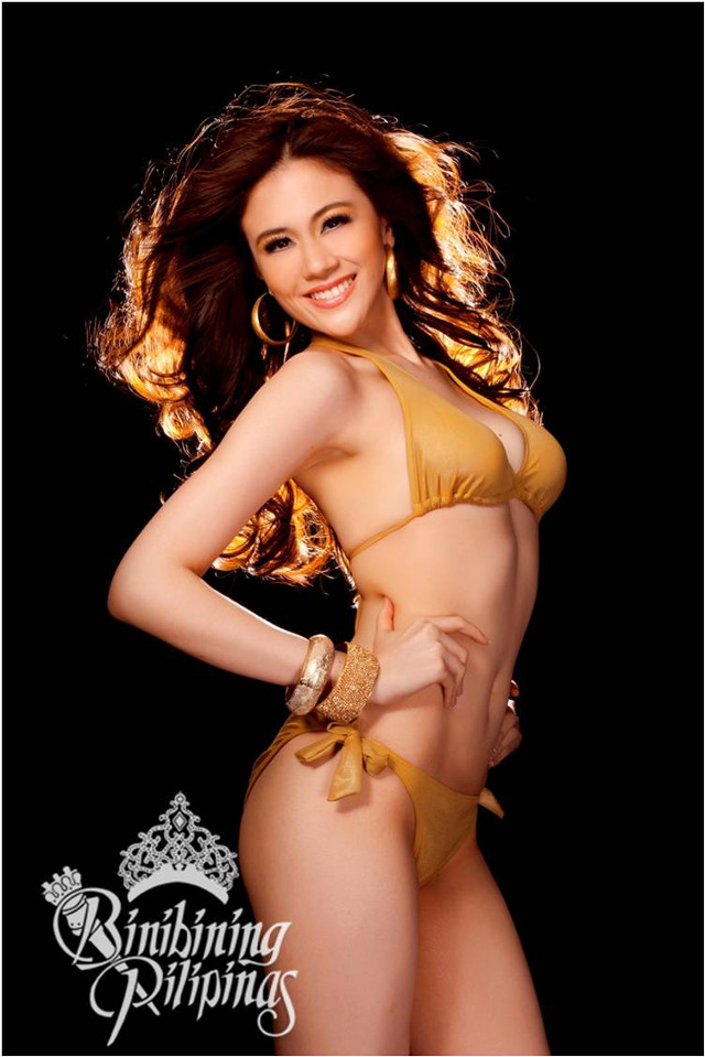 OFFICIAL SWIMWEAR. Nicole Donesa in the Bb Pilipinas official swimwear photo from the Araneta Center Marketing Department
