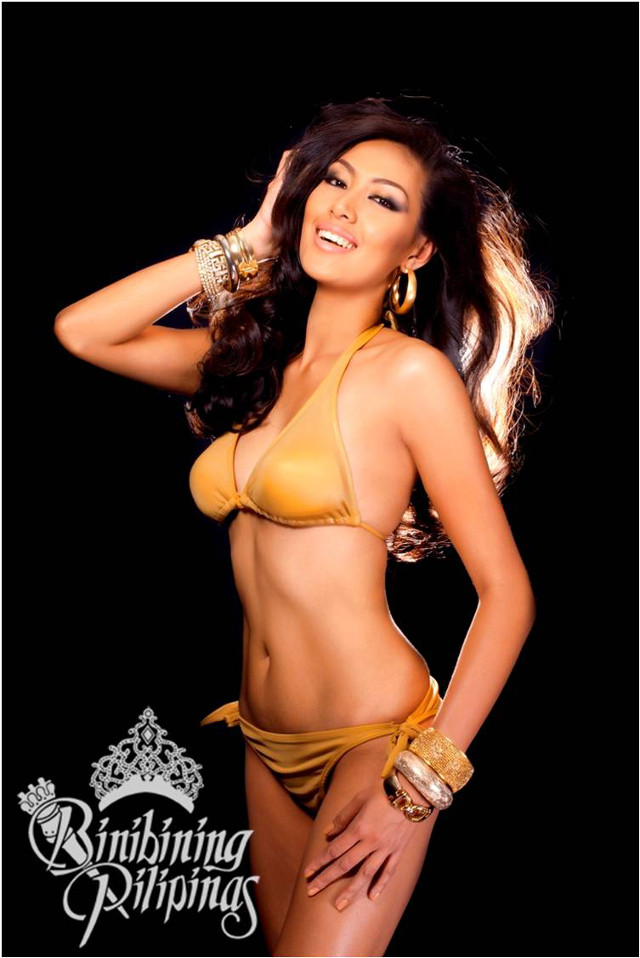 OFFICIAL SWIMWEAR. Grace Yann Apuad in the Bb Pilipinas official swimwear photo from the Araneta Center Marketing Department