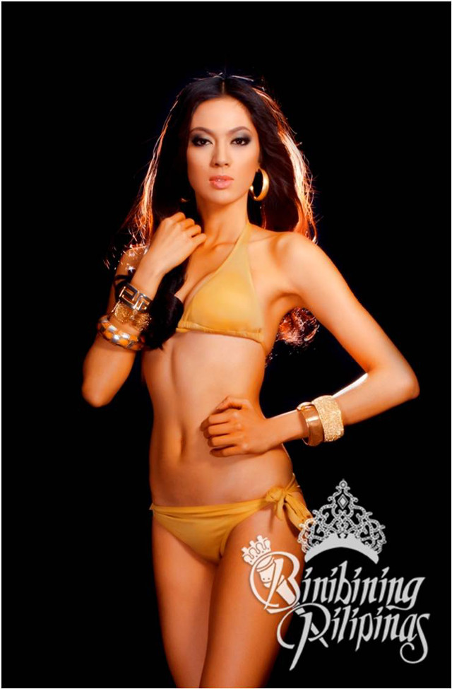 OFFICIAL SWIMWEAR. Ariella Arida in the Bb Pilipinas official swimwear photo from the Araneta Center Marketing Department
