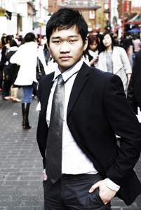 YOUTH LEADER. Filipino-Chinese youth leader Steven Cheung is proud to be chosen to carry the Olympic torch. Photo from Cheung's website